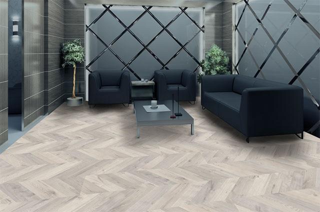 Ảnh 10: Gạch vân gỗ Đồng Tâm mang đến vẻ đẹp tinh tế cho không gian phòng khách