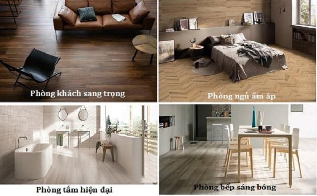 Ảnh 24: Gạch giả gỗ thiết kế cho mọi không gian theo nhu cầu khách hàng