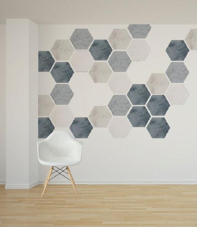 Ảnh 31: Hình ảnh lục giác 6 cạnh mang đến vẻ đẹp kiều diễm ấn tượng