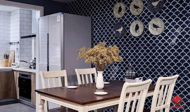 Ảnh 36: Trang trí phòng khách sang trọng, ấn tượng và pha trộn nét đẹp truyền thống