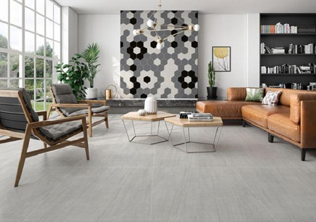 Ảnh 41: Gợi ý cách chọn gạch ốp tường phòng khách phù hợp diện tích ngôi nhà