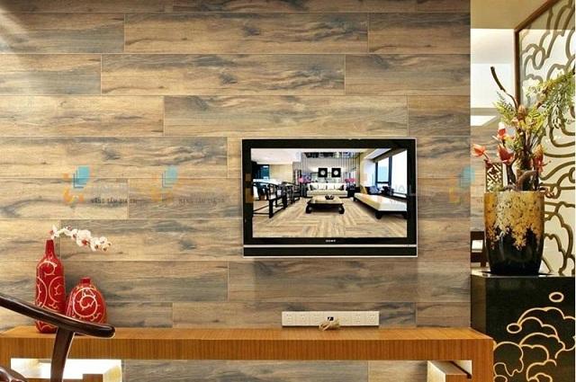Ảnh 5: Mẫu gạch Đồng Tâm giả gỗ có chất lượng cao cấp
